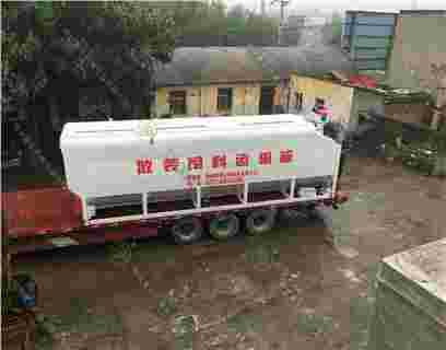 吉林白城20吨散装德赢vwin米兰运输罐发货