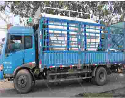 天津客户散装德赢vwin米兰运输车发货