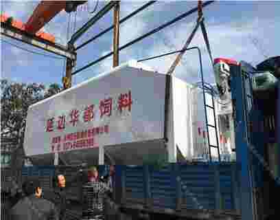 吉林延边15吨散装德赢vwin米兰运输车(罐)发货