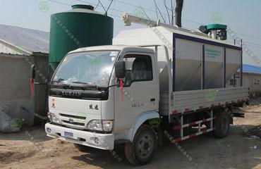 4吨散装德赢vwin米兰运输车(河南客户)