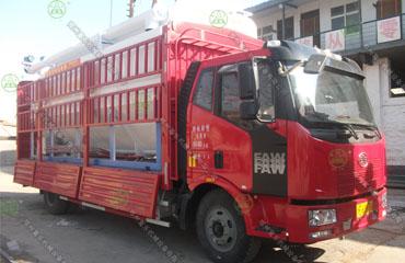 18吨散装德赢vwin米兰运输车(安徽客户)