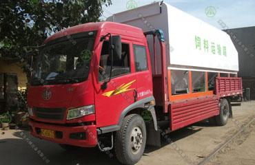 15吨散装德赢vwin米兰运输车(鹤壁客户)