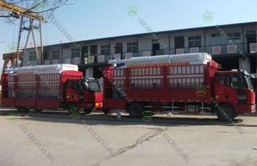 20吨散装德赢vwin米兰运输车(西藏客户)